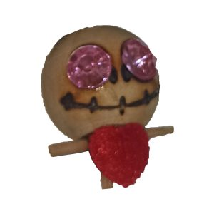 سرکلیدی چوبی عروسکی چشم الماسی